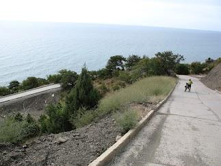 велосипедный подъем