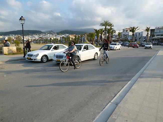 прокат велосипедов Крит
