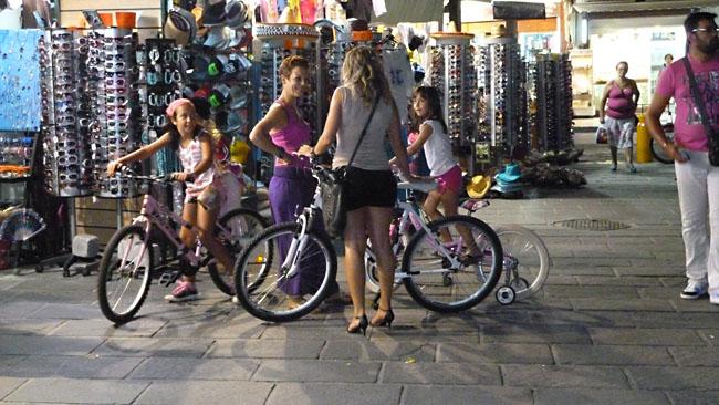 прокат велосипеда Крит