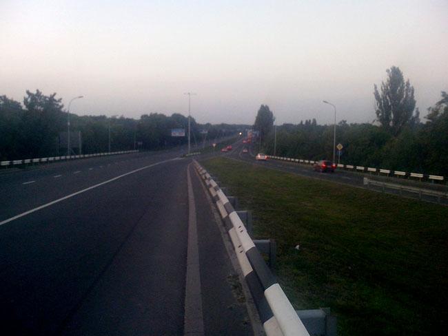 Дорога за Донецком