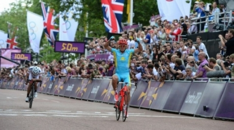 Победа Александра Винокурова на XXX олимпийских играх в Лондоне