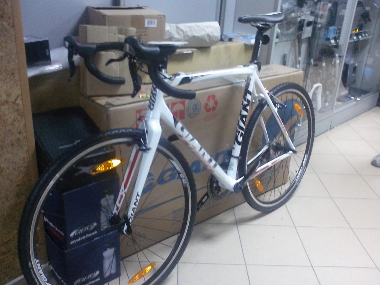 велосипед для велокросса giant TCX 1
