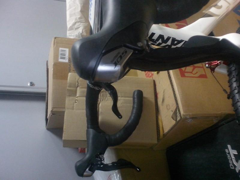 велосипед для велокросса giant TCX 1 тормозные ручки