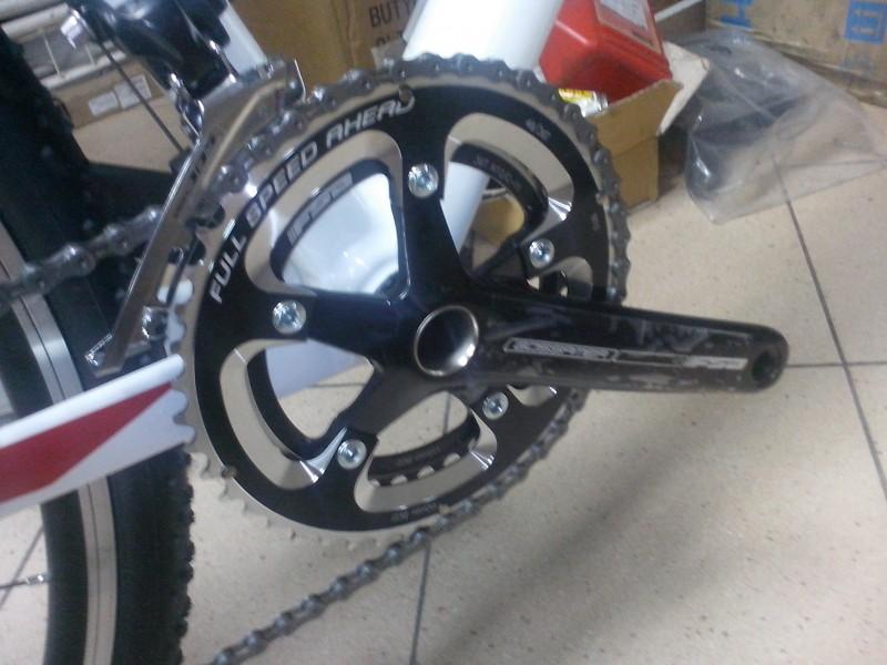 велосипед для велокросса giant TCX 1 передние звезды FSA