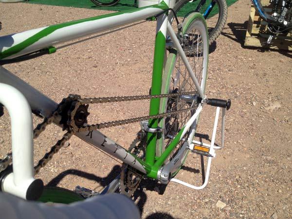 Tretta 2WD - полноприводный велосипед