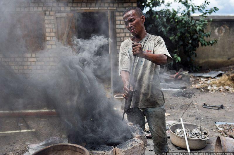 Производство алюминиевых кастрюль – плавка лома