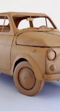 Скульптура из картона