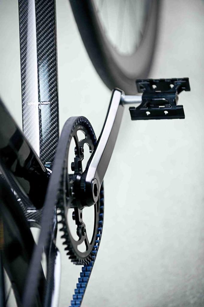 Велосипед Coren ременной привод