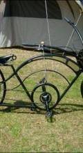 адский велосипед круизер