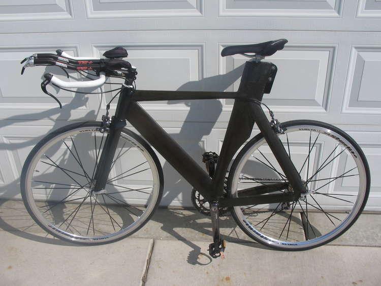 карбоновый велосипед своими руками