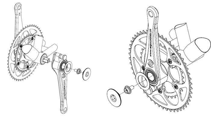 шатуны велосипеда