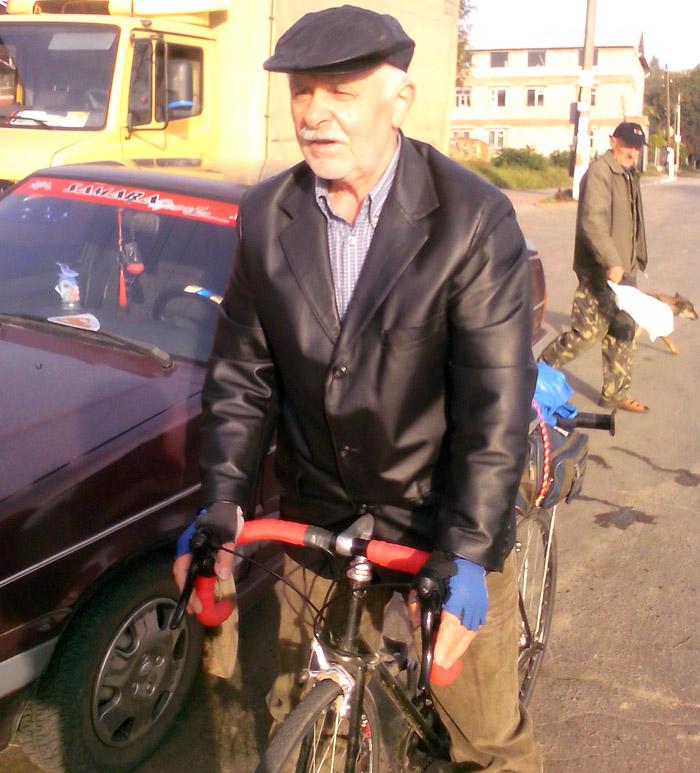 Велосипедист Владимир Васильевич