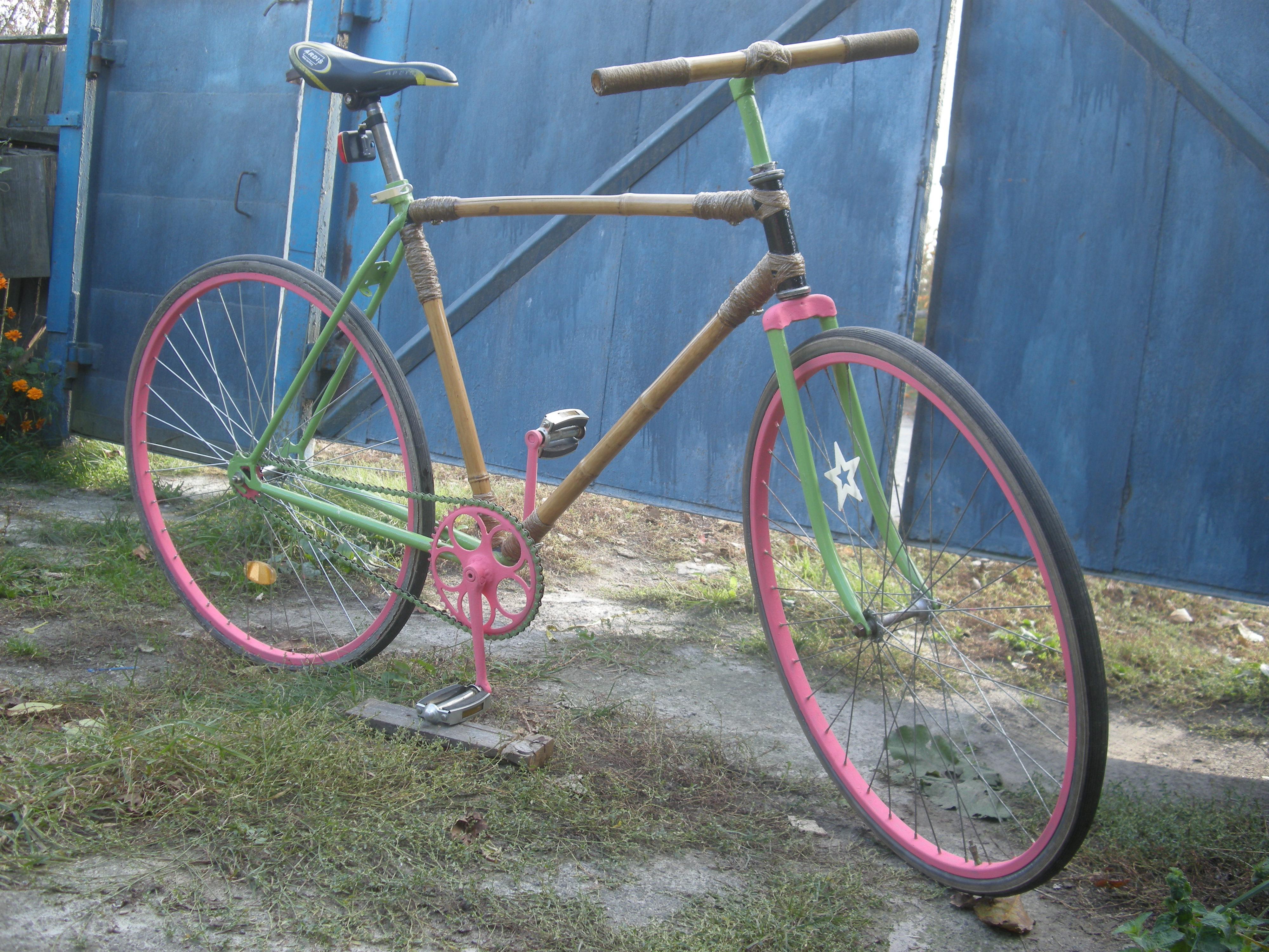Велосипед собранный своими руками 271