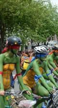 Fremont Solstice Parade bikers