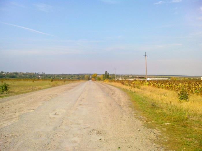 Бескрайние поля Винниччины