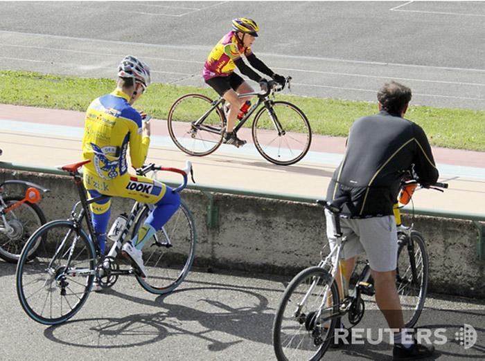 Велосипедист долгожитель Робер Маршан поставил рекорд