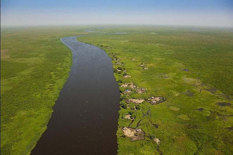 South Sudan swamp