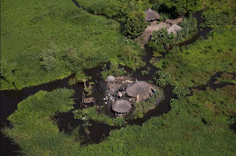 South Sudan swamp