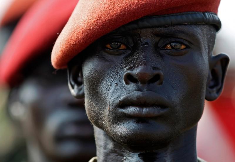 Солдат Народной армии освобождения Судана