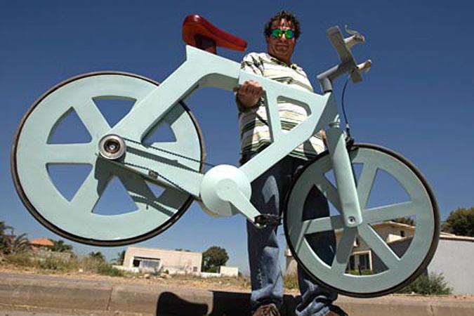 Велосипед из картона за 20 долларов