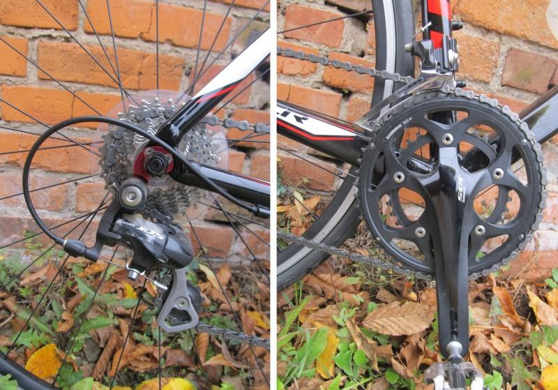 велосипед Giant TCR 1 привод