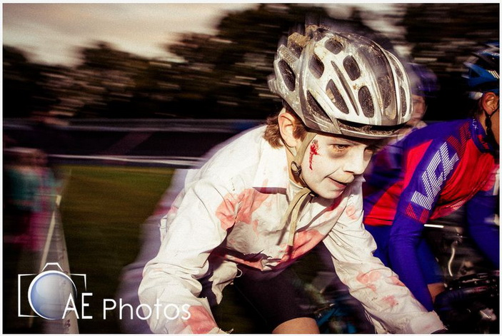Циклокрос. Юные велосипедисты