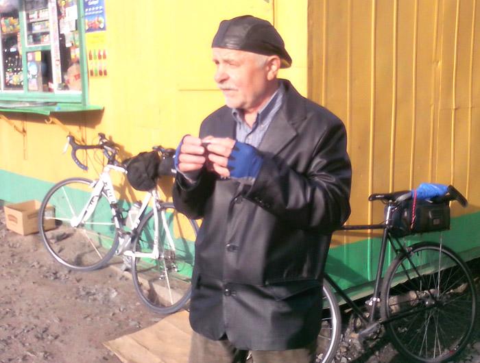 Пьем чай, велосипеды отдыхают