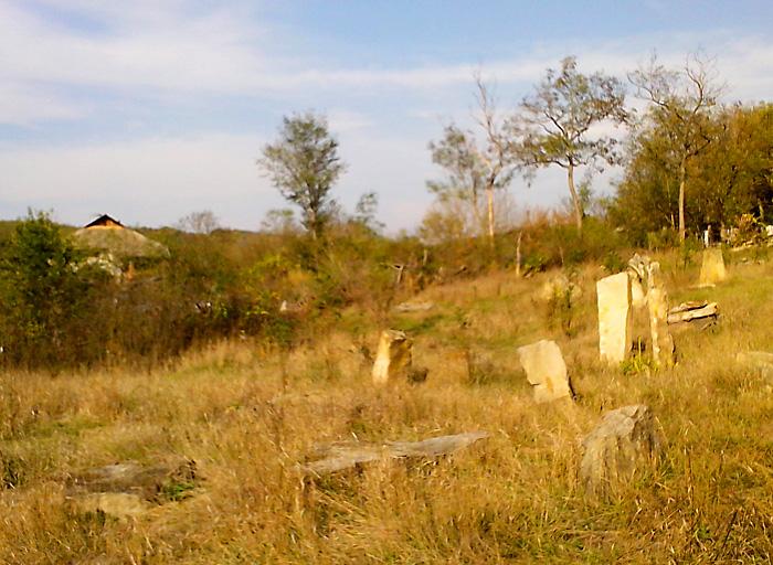 Двухэтажка Алешкиных и поделки из камня