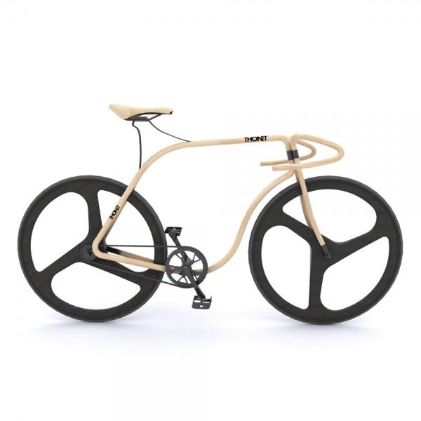 Велосипед из гнутой древесины – Thonet