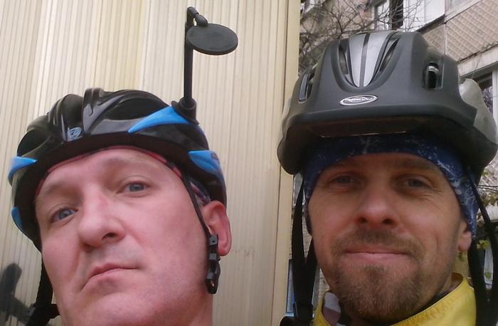 Финал поездки на велосипедах