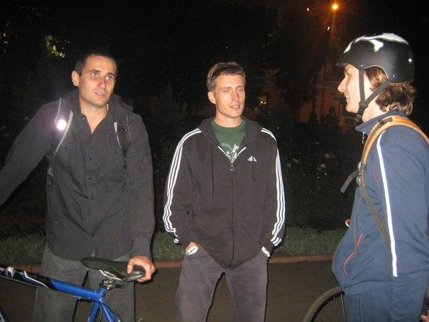 Денис Боклажук, велосипедист