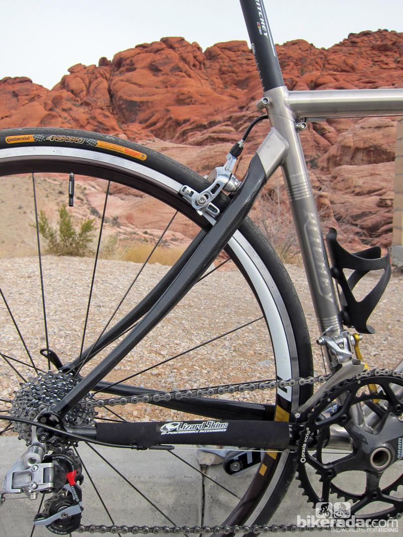 Разборный шоссейный велосипед:Ritchey Break-Away