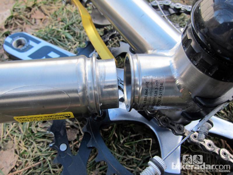 Складной шоссейный велосипед Ritchey Break-Away соединения