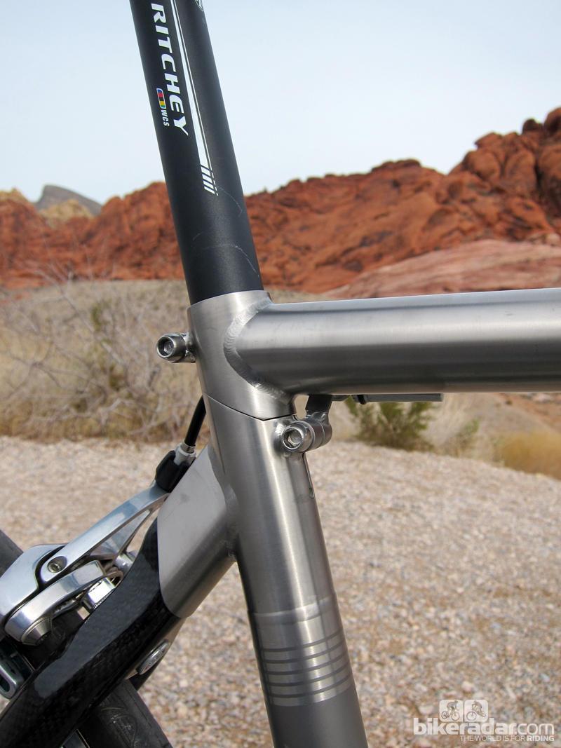 Складной шоссейный велосипед Ritchey Break-Away зад