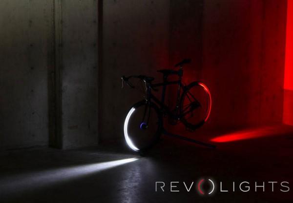 велосиепдный свет revolights bicycle wheel mounted