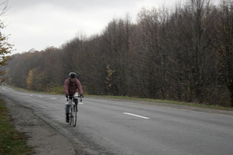 Суровый велосипедист Вова