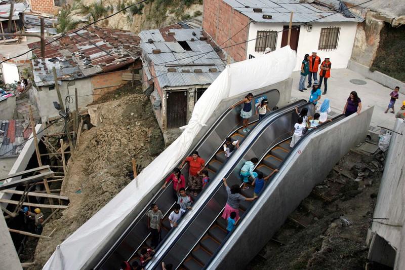 Общественный эскалатор Медельина