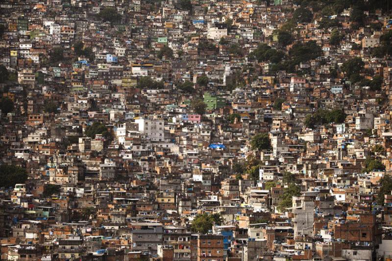 Бразильские трущобы