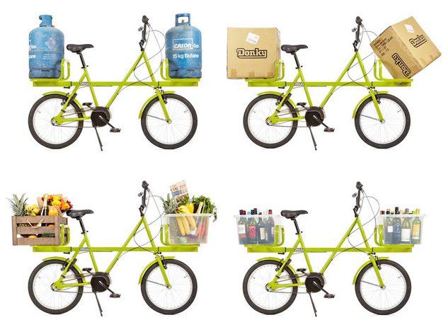 Грузовой велосипед Donke