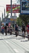 вело Самара девушка на велосипеде