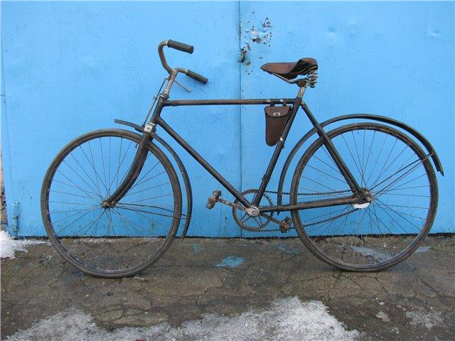 Немецкий велосипед времён ВОВ