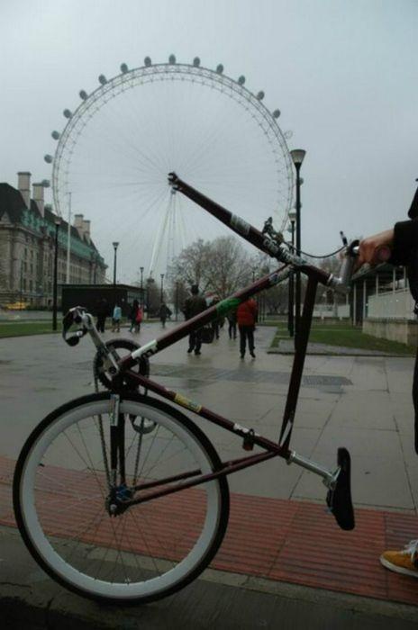 улучшеный велосипед