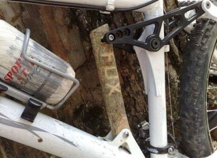 улучшеный велосипед аморт фокс