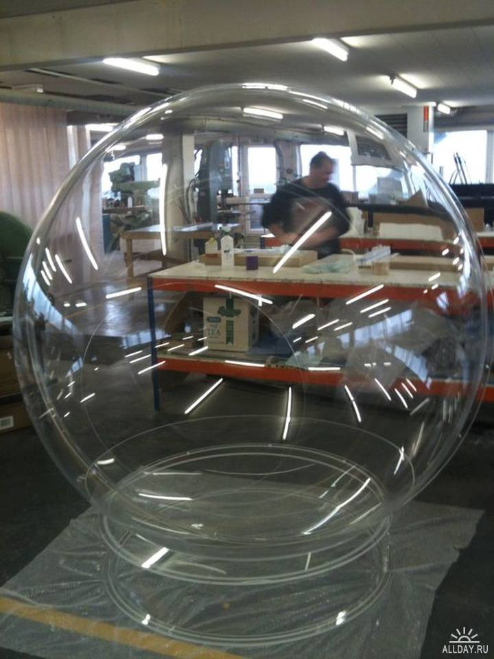 стекляный шар