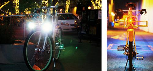 Велосипедный свет Ретро электровелосипед Faraday Porteur