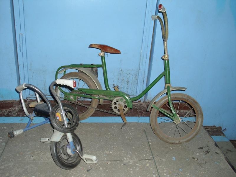 Велосипед Зайчик
