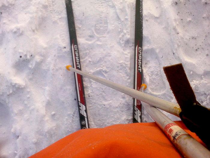Ладыжин, лыжи