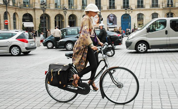 Велосипедный Париж