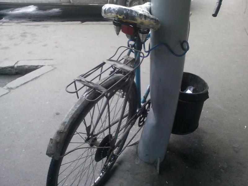 Велосипед Турист как средство тренировки непривязанности