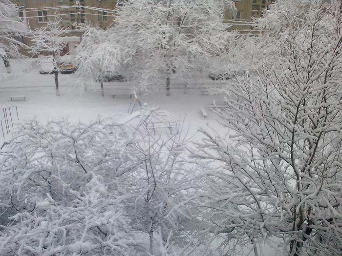 Зима в Виннице